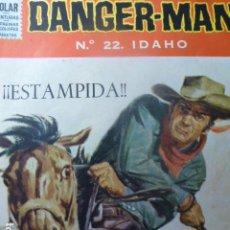 Tebeos: COMIC DANGER-MAN Nº 22 DE DOLAR. Lote 263646645