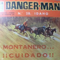 Tebeos: COMIC DANGER-MAN Nº 28 DE DOLAR. Lote 263646855