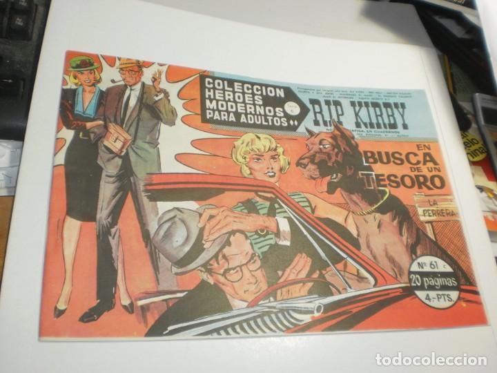 RIP KIRBY Nº 61 EN BUSCA DE UN TESORO (SEMINUEVO) (Tebeos y Comics - Dólar)