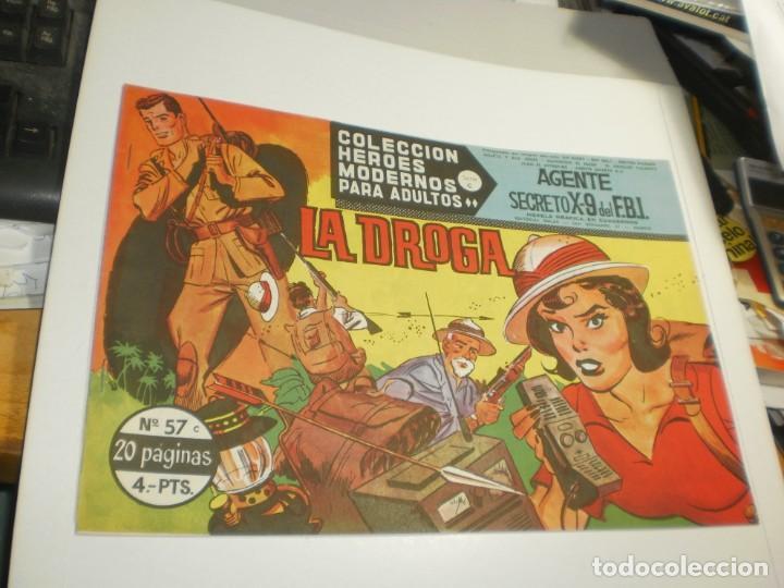 AGENTE SECRETO X-9 DEL F.B.I. Nº 57 (SEMINUEVO) (Tebeos y Comics - Dólar)