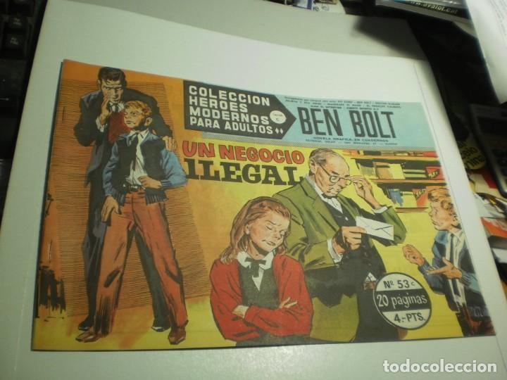 BEN BOLT Nº 53 UN NEGOCIO ILEGAL (SEMINUEVO) (Tebeos y Comics - Dólar)