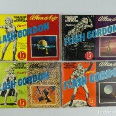 BDs: COLECCION HEROES MODERNOS ALBUM DE LUJO FLASH GORDON NUMEROS 3-4-5-6 EDITORIAL DÓLAR. Lote 264769049