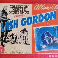 Tebeos: COLECCIONES HEROES MODERNOS ALBUM DE LUJO FLASH GORDON Nº 1 DOLAR ORIGINAL CT3. Lote 266125848