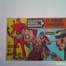BDs: EL HOMBRE ENMASCARADO - SERIE A - NUMERO 39 - COLECCION HEROES MODERNOS - GORBAUD. Lote 266253558