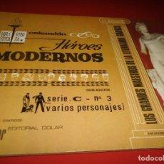 Tebeos: HEROES MODERNOS - SERIE .C- Nº 3 - ( VARIOS PERSONAJES ) - DOLAR. Lote 267257114