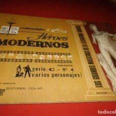 Tebeos: HEROES MODERNOS - SERIE .C- Nº 4 - ( VARIOS PERSONAJES ) - DOLAR. Lote 267260704