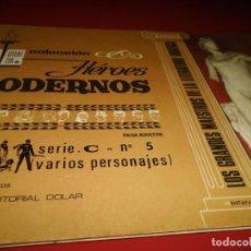 Tebeos: HEROES MODERNOS - SERIE .C- Nº 5 - ( VARIOS PERSONAJES ) - DOLAR. Lote 267261114
