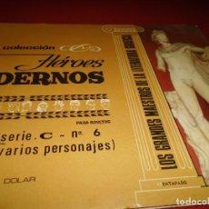 Tebeos: HEROES MODERNOS - SERIE .C- Nº 6 - ( VARIOS PERSONAJES ) - DOLAR. Lote 267261664