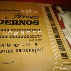 Tebeos: HEROES MODERNOS - SERIE .C- Nº 9 - ( VARIOS PERSONAJES ) - DOLAR. Lote 267262844