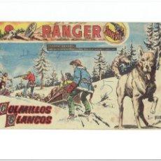 Tebeos: ARCHIVO * RANGER JUVENIL * Nº 7 COLMILLOS BLANCOS * EDITORIAL DÓLAR 1958 *. Lote 267690259