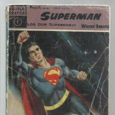 Tebeos: SUPERMAN 1: LOS DOS SUPERMAN, 1959, DOLAR, USADO.. Lote 269156478