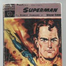 Tebeos: SUPERMAN 2: EL ROBOT HUMANO, 1960, DOLAR,. Lote 269158303
