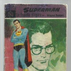 Tebeos: SUPERMAN 10: LA ESPADA MÁGICA, 1959, DOLAR, USADO.. Lote 269158613