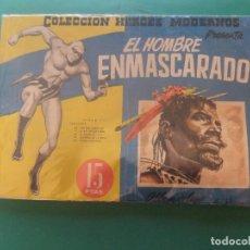 Tebeos: HEROES MODERNOS EL HOMBRE ENMASCARADO ALBUM DE LUJO Nº 12 EDITORIAL DOLAR. Lote 270623093