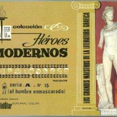 BDs: DÓLAR. BIBLIOTECA ETERNA. SERIE A. 15. EL HOMBRE ENMASCARADO.. Lote 271252848