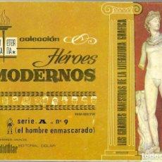 BDs: DÓLAR. BIBLIOTECA ETERNA. SERIE A. 9. EL HOMBRE ENMASCARADO.. Lote 271262208
