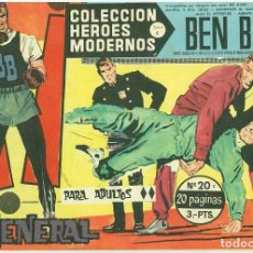 Tebeos: D�LAR. H�ROES MODERNOS. SERIE C. 20.. Lote 271285493