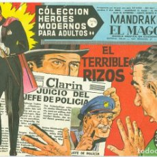 Tebeos: D�LAR. H�ROES MODERNOS. SERIE C. 72.. Lote 271285683