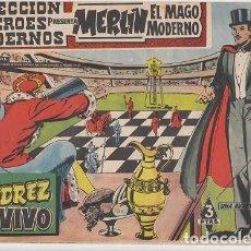 Tebeos: MERLIN EL MAGO MODERNO ( MANDRAKE ) Nº 1 COLECCION HEROES MODERNOS EDITORIAL DOLAR #. Lote 271812478