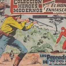 BDs: EL HOMBRE ENMASCARADO Y FLASH GORDON Nº 018 COLECCION HEROES MODERNOS EDITORIAL DOLAR #. Lote 271822813