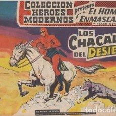 BDs: EL HOMBRE ENMASCARADO Y FLASH GORDON Nº 020 COLECCION HEROES MODERNOS EDITORIAL DOLAR #. Lote 271823398