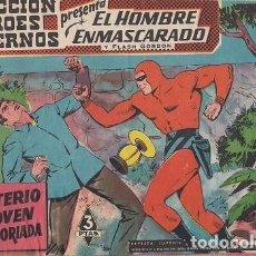 BDs: EL HOMBRE ENMASCARADO Y FLASH GORDON Nº 022 COLECCION HEROES MODERNOS EDITORIAL DOLAR #. Lote 271823523