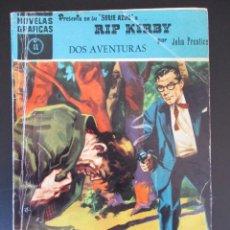 Tebeos: NOVELAS GRÁFICAS Nº 41 - SERIE AZUL, RIP KIRBY, DOS AVENTURAS - EDITORIAL DÓLAR 1959. Lote 276570408