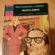 Giornalini: JULIETA JONES, COLECCIÓN COMPLETA NARRACIONES DE JULIETA, 16 NUMEROS. Lote 277104328
