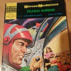 """Tebeos: LOTE """"FLASH GORDON"""", HÉROES MODERNOS, 8 NUMEROS. Lote 277105533"""