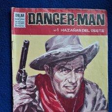 Tebeos: DANGER-MAN Nº 1 - DOLAR. Lote 278703218