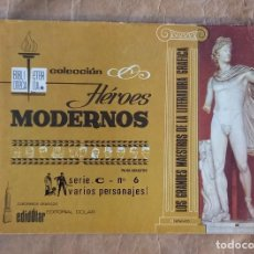 Tebeos: HÉROES MODERNOS - BIBLIOTECA ETERNA (SERIE C) - DÓLAR / NÚMERO 6. Lote 280390603