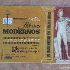 Tebeos: HÉROES MODERNOS - BIBLIOTECA ETERNA (SERIE C) - DÓLAR / NÚMERO 10. Lote 280392093