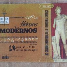 Tebeos: HÉROES MODERNOS - BIBLIOTECA ETERNA (SERIE C) - DÓLAR / NÚMERO 13. Lote 280393283