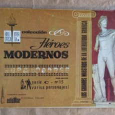 Tebeos: HÉROES MODERNOS - BIBLIOTECA ETERNA (SERIE C) - DÓLAR / NÚMERO 15. Lote 280393718