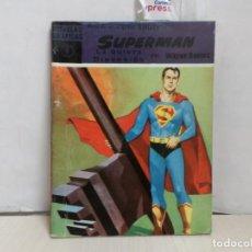BDs: NOVELAS GRAFICAS -SERIE VIOLETA -SUPERMAN --NO 9-ORIGINAL 1959--. Lote 284075343