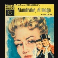 Giornalini: NOVELAS GRÁFICAS (SERIE AMARILLA) / NÚMERO 2 (MANDRAKE, EL MAGO). Lote 286380798