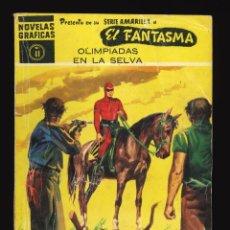 Giornalini: NOVELAS GRÁFICAS (SERIE AMARILLA) / NÚMERO 41 (EL FANTASMA). Lote 286447453