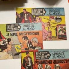 Tebeos: COLECCIÓN HÉROES MODERNOS SERIE C MANDRAKE EL MAGO. Lote 287374248