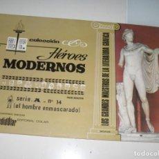 Tebeos: HEROES MODERNOS SERIE A 14.HOMBRE ENMASCARADO.EDITORIAL DOLAR,AÑO 1970. Lote 287577843
