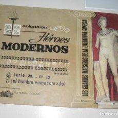 Tebeos: HEROES MODERNOS SERIE A 12.HOMBRE ENMASCARADO.EDITORIAL DOLAR,AÑO 1970. Lote 287578108