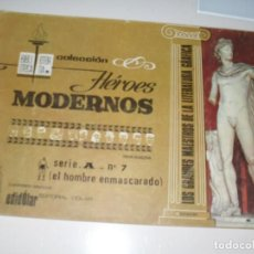 Tebeos: HEROES MODERNOS SERIE A 7.HOMBRE ENMASCARADO.EDITORIAL DOLAR,AÑO 1970. Lote 287578348