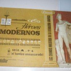 Tebeos: HEROES MODERNOS SERIE A 6.HOMBRE ENMASCARADO.EDITORIAL DOLAR,AÑO 1970. Lote 287578618
