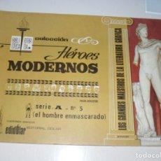 Tebeos: HEROES MODERNOS SERIE A 5.HOMBRE ENMASCARADO.EDITORIAL DOLAR,AÑO 1970. Lote 287578723