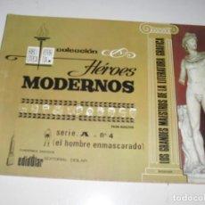 Tebeos: HEROES MODERNOS SERIE A 4.HOMBRE ENMASCARADO.EDITORIAL DOLAR,AÑO 1970. Lote 287578873