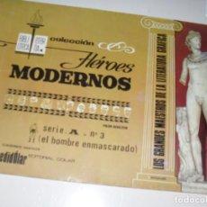 Tebeos: HEROES MODERNOS SERIE A 3.HOMBRE ENMASCARADO.EDITORIAL DOLAR,AÑO 1970. Lote 287578983
