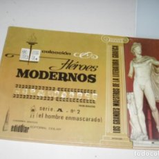 Tebeos: HEROES MODERNOS SERIE A 2.HOMBRE ENMASCARADO.EDITORIAL DOLAR,AÑO 1970. Lote 287579128