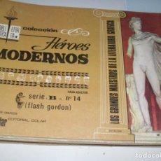 Tebeos: HEROES MODERNOS SERIE B 14(DE 15):FLASH GORDON.EDITORIAL DOLAR,AÑO 1970. Lote 287646363