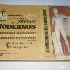 Tebeos: HEROES MODERNOS SERIE B 9(DE 15):FLASH GORDON.EDITORIAL DOLAR,AÑO 1970. Lote 287646558