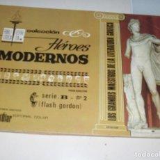 Tebeos: HEROES MODERNOS SERIE B 2 (DE 15):FLASH GORDON.EDITORIAL DOLAR,AÑO 1970. Lote 287647118