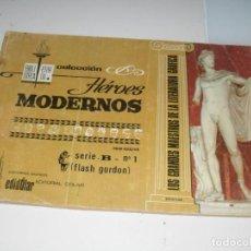 Tebeos: HEROES MODERNOS SERIE B 1 (DE 15):FLASH GORDON.EDITORIAL DOLAR,AÑO 1970. Lote 287647273